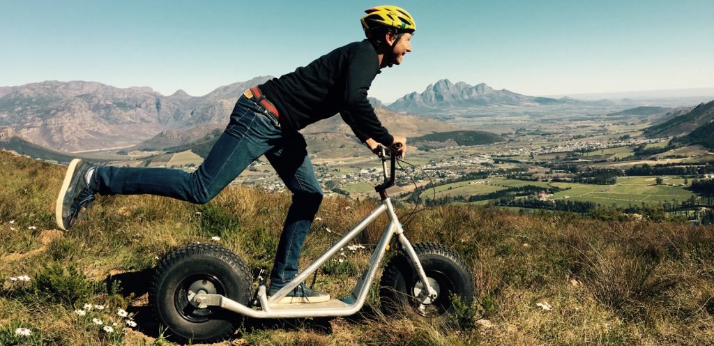 Franschhoek Mountain Free Wheel Experience